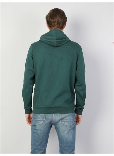 Colin's CL1045236_Q1.V2_GRE Erkek Sweatshirt Yeşil